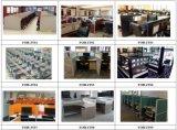 Modèle moderne de 4 de personne de poste de travail de bureau compartiments de centre d'appels