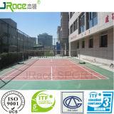 Superfície ao ar livre plástica durável do esporte do Badminton do revestimento