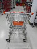Carrello americano del carrello di acquisto del supermercato della memoria del metallo