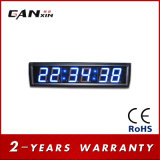 [Ganxin] 파란 실내 발광 다이오드 표시 침대 곁 시간 교실 시계