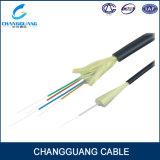 Cable óptico de interior móvil de 4 bases de fibra del solo modo de Gjpfju del campo