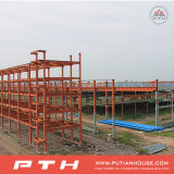 Gruppo di lavoro prefabbricato della struttura d'acciaio di basso costo