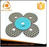 DMD-06 신형 다이아몬드 Fexible 건조한 닦는 패드