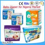 Couches-culottes remplaçables doucement respirables de bébé du Ghana Hapibabe