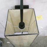 de la lámpara de pared blanca de la cabecera del hierro de la tela para el proyecto del hotel
