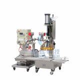 Capping를 가진 자동적인 반대로 Liquid Filling Machine
