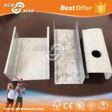 فولاذ [فورّينغ] قناة, فولاذ [درولّ] قطاع جانبيّ (لأنّ جبس جدار لون)