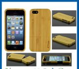 iPhone 5를 위한 자연적인 Wooden Hard Bamboo Wood 이론 Cover