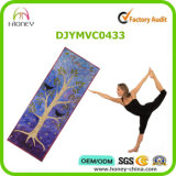 Commercio all'ingrosso della stuoia di yoga stampato colore libero di slittamento, servizio dell'OEM