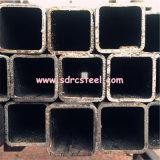 Pipa de acero cuadrada galvanizada en baño caliente Q235