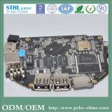 高周波PCBの上昇PCBのボードの黒PCB LEDの適用範囲が広いストリップ