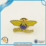 Preiswertes kundenspezifisches Stern-Form-Metallreverspin-Abzeichen