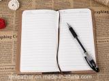 Cuaderno colorido de la PU que escribe los cuadernos del diario del estudiante del memorando