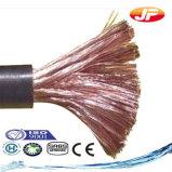 Cabo da soldadura elétrica/cabo distribuidor de corrente/fio de cobre