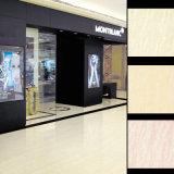 Schwarze weiße glänzende Fußboden-Teppich-Fliese Vitrified Fliese-Porzellan-Fliese