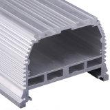 Profil en aluminium d'oxydation noire pour la pièce jointe (ISO9001 : 2008 TS16949 : 2008)