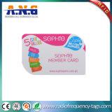 Plastik-RFID Karte der runden Ecken-mit farbenreichem Drucken