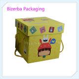 선전용 다채로운 접히는 서류상 물결 모양 상자