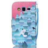 Крышка мобильного телефона вставки карточки типа бумажника/аргументы за Samsung