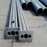 Vender poste de iluminación de la calle galvanizado de acero Q235