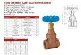 Valvola Bronze della valvola a saracinesca (filettata) 153b Sp-80, B61 valvola, valvola B62