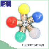 Luz de bulbo colorida del material LED de la PC E27/B22