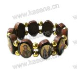 De hete Armband van de Rozentuin van de Heiligen van de Verkoop Houten Heilige