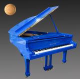 販売のための濃紺のピアノ小型グランドピアノをカスタマイズしなさい