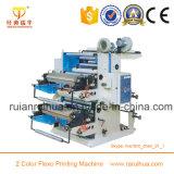 2 Farbe industrielle verwendete Flexo Drucken-Maschine