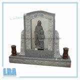 صوان [أمريكن] أسلوب شاهد القبر/نصب