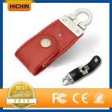 USB Pendrive Hotselling кожаный