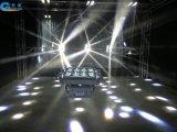 8X10W LED 거미 (백색) 가벼운 이동하는 맨 위 광속 빛 (B8-10)