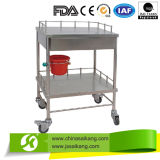 El hospital del acero inoxidable Carts la carretilla del tratamiento (CE/FDA/ISO)