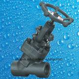 Valvola di globo d'acciaio forgiata standard del collegamento di estremità della flangia dell'ANSI
