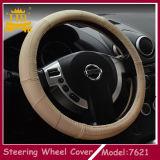 Os melhores acessórios de venda do carro do couro genuíno, tampa de roda da direção do carro
