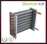 Evaporador aire acondicionado de aluminio/hidrofílica de la aleta de la hoja