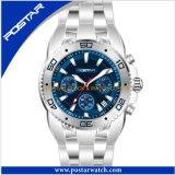 Montre de sport de montre de quartz de qualité de mode pour les hommes