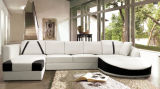 Home SofaのためのホームFurniture Leather Lounge Modern Sofa