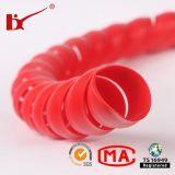 Protetor espiral colorido por atacado de Customed