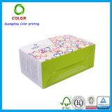 Caja de embalaje del papel del color de la impresión