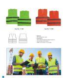 Veste da proteção do equipamento de segurança da estrada da veste da segurança do engranzamento do Workwear
