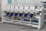 6 Machine van het Borduurwerk van hoofden de Hoge snelheid Geautomatiseerde met Witte en Zwarte Kleur