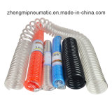 Plutônio Coiled Water Hose, Air Tube (4*6mm*3.175m)