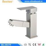O banheiro escovado moderno niquelar de Beeleee retira o Faucet da bacia