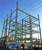 Fünf Fußboden-vorfabriziertstahlkonstruktion-Aufbau-hohes Anstieg-Gebäude