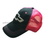 Kundenspezifisches Ineinander greifen Sports Baseballmütze, Hysteresen-Fernlastfahrer-Hut