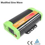 Invertitore solare modificato 24V 230V del rifornimento 1500va della fabbrica dell'uscita dell'onda di seno
