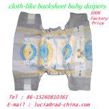 De beschikbare Luiers van de Baby van de Prijs van de Fabriek Zachte Pas ontwikkelde