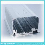 Caixa do competidor do alumínio/a de alumínio do perfil da extrusão de alimentação da fonte