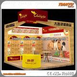 Acrylique annonçant des présentoirs de cabine d'exposition